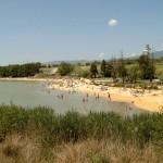plage du plan d'eau des Salettes