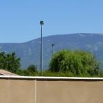 Le mont Ventoux, depuis l'accueil